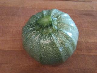 runde Zucchini