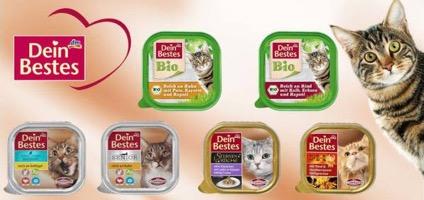Katzenfutter in Bio-Qualität von dm