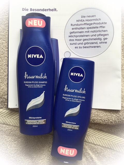 Nivea Haarmilch Shampoo und Spülung