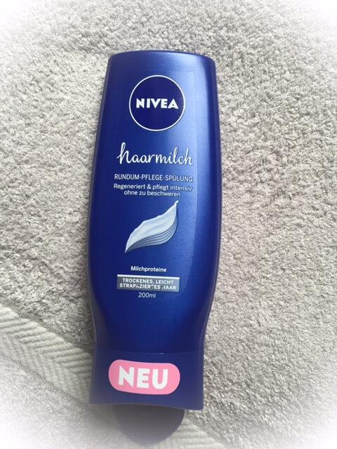 Nivea Haarmilch Flasche