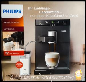 Philips Easy Cappuccino im Einsatz