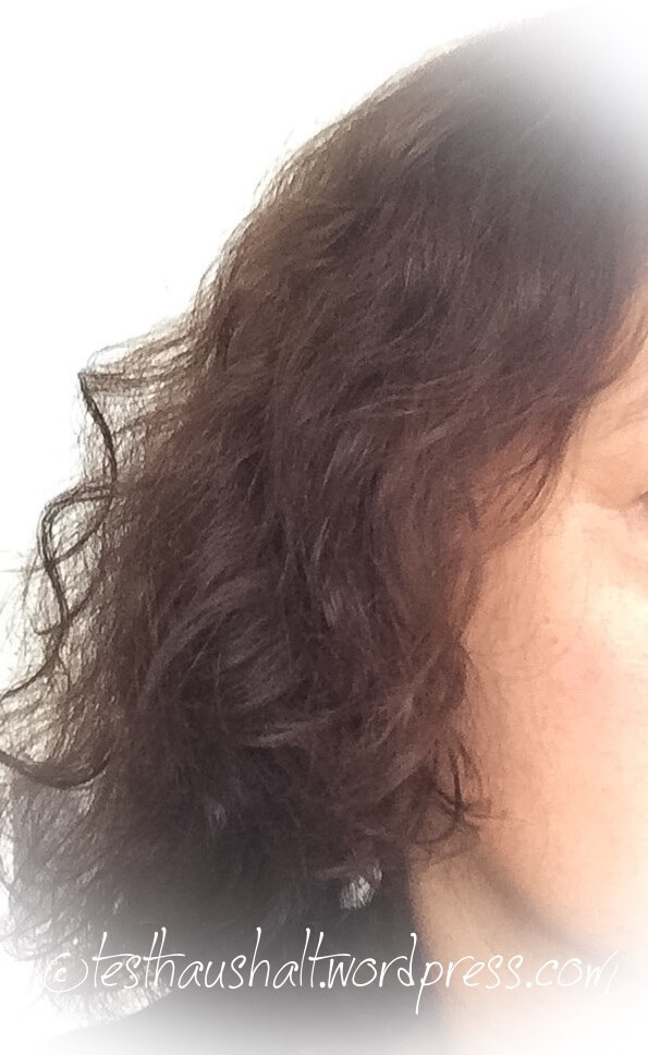 Gepflegte Haare mit Nivea Haarmilch