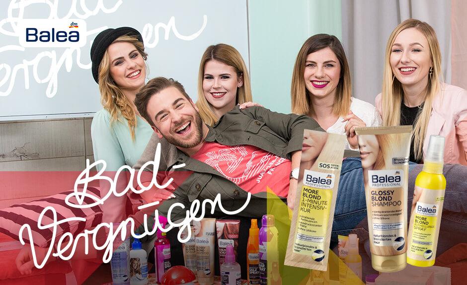dm News: Balea Badvergnügen Helle Köpfchen + Haarpflegeprodukt-News