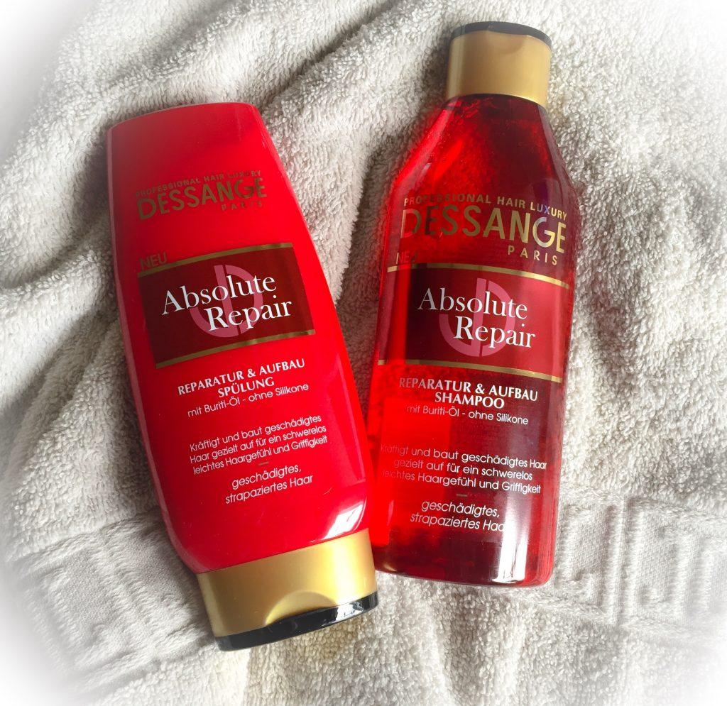 Dessange Absolute Repair Shampoo und Spülung