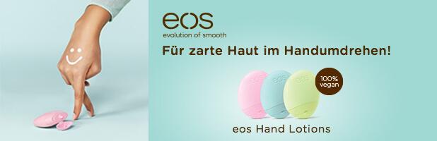 Neu bei Rossmann: Zarte Haut im Handumdrehen mit eos!