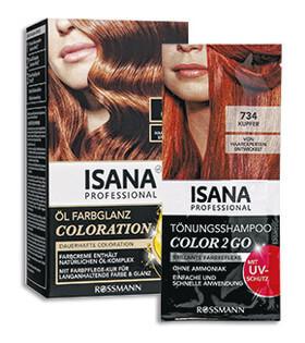 Haarfarbe pflanzlich braun