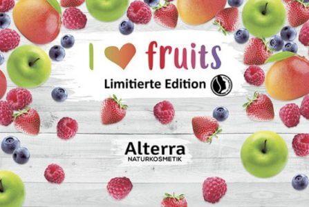"Rossmann News: ""I ❤ fruits"" neue LE von Alterra Naturkosmetik"