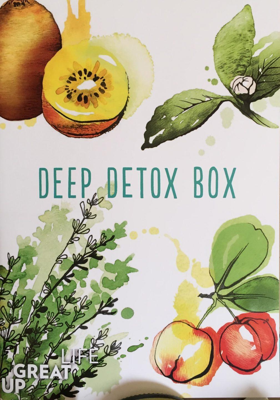 deep detox kur, abnehmen, entgiften