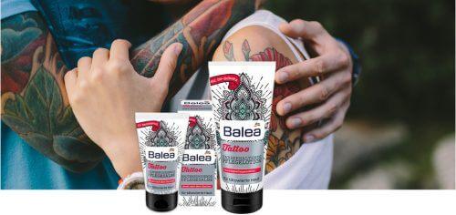 dm News: Tattoopflege von Balea