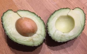 Avocado halbiert