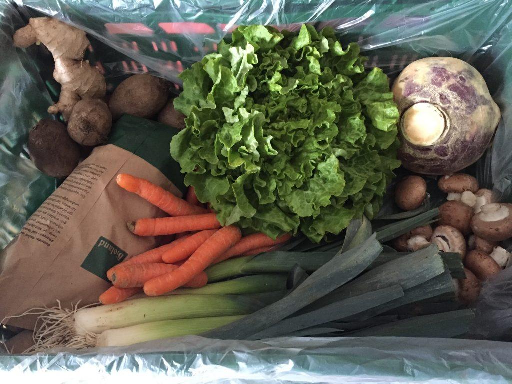 Unser Gemüse Abo - Inhalt der Gemüsekiste vom Biobauernhof