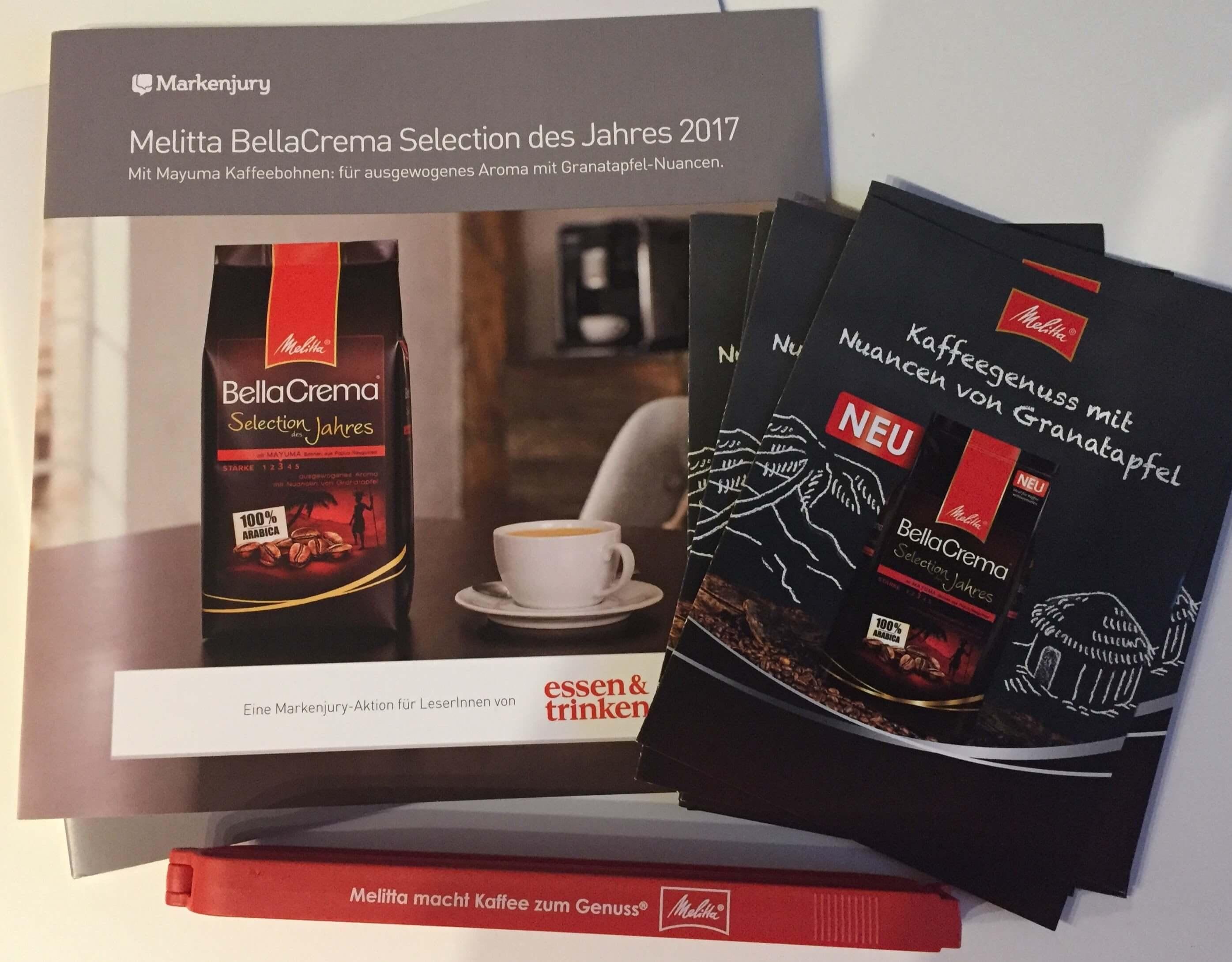 Markenjury Handbuch, Flyer, Genuss-Verschluss
