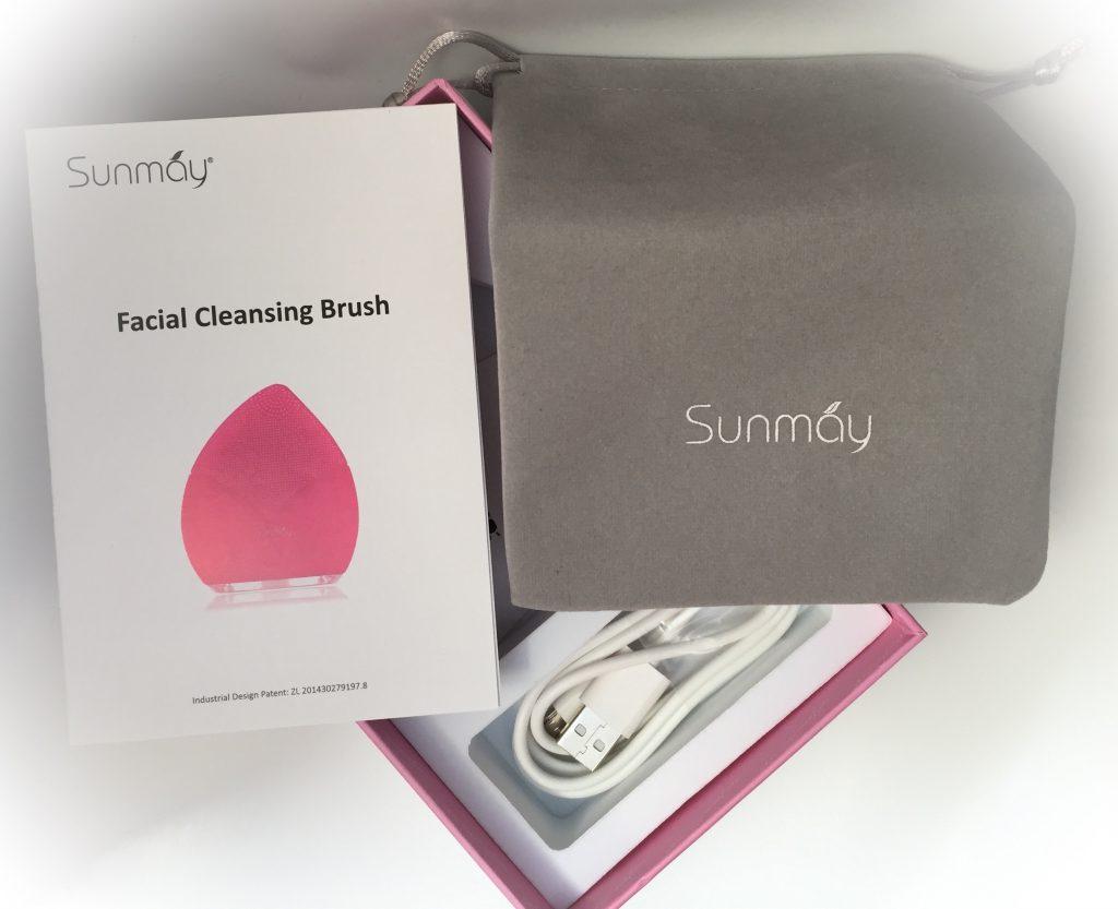 Packungsinhalt Gesichtsreinigungsbürste