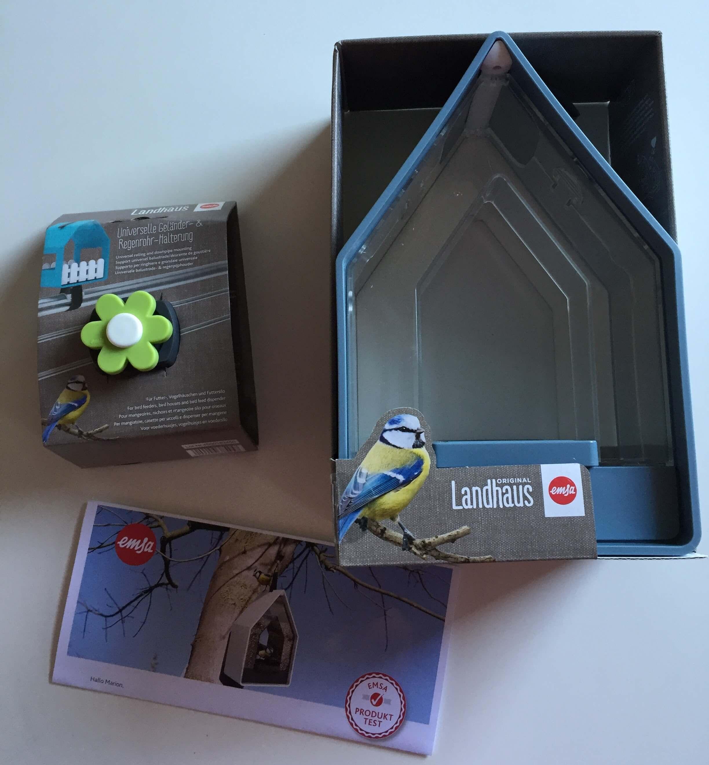 Paketinhalt Emsa Produktest Landhaus