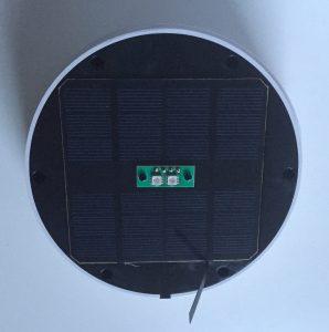 Solarpanel mit Sicherungslasche