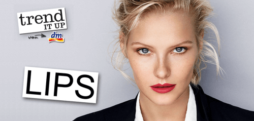dm News: trend IT UP Sortimentswechsel März 2017 – Lips