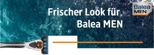 dm News: Frischer Look für Balea MEN
