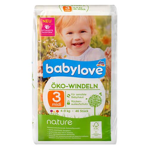 Baby love windeln