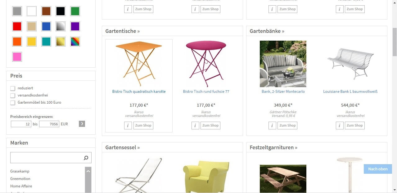 Netzshopping Screenshot 2