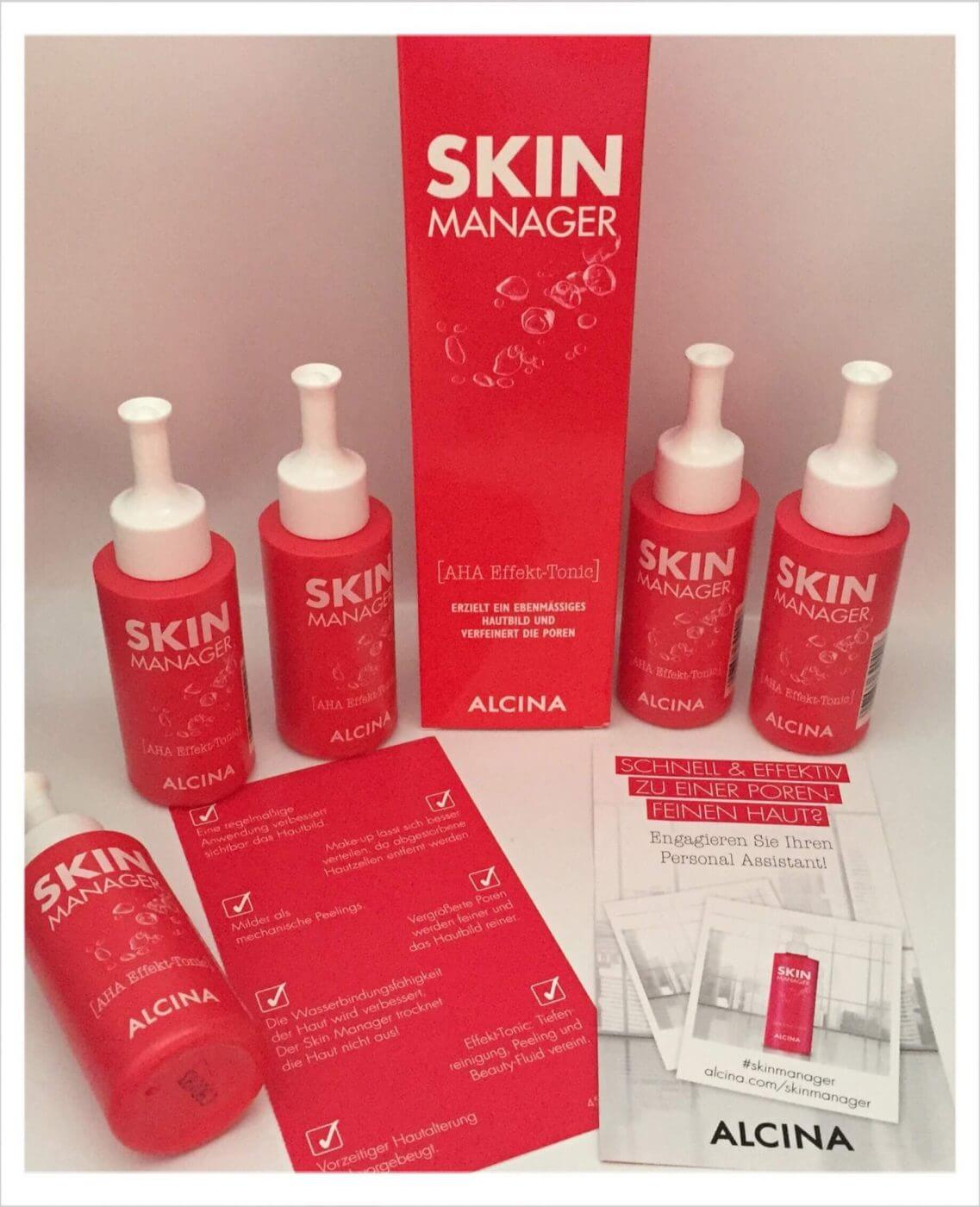 Testpaket Alcina Skin Manager