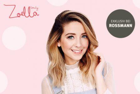 Zoella beauty gibt es jetzt exklusiv bei Rossmann!