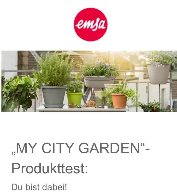 Emsa Zusage City Garden