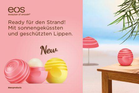 Rossmann News: eos Active Lip Balms – smarter Schutz für zarte Lippen!