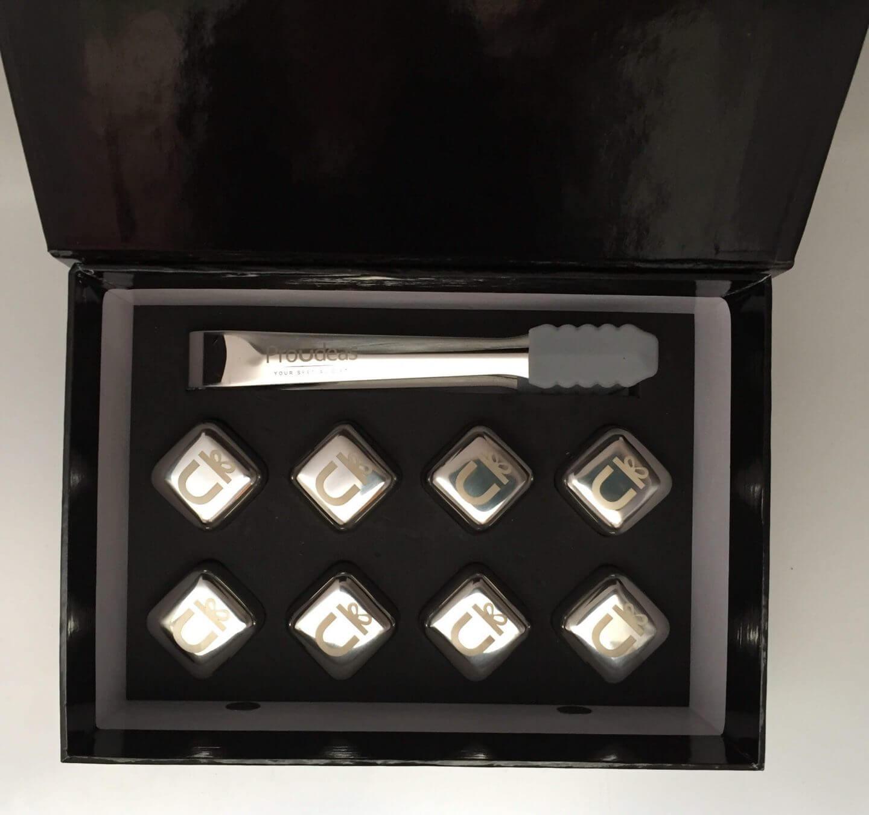 Proudeas Eiswürfel und Zange in Box