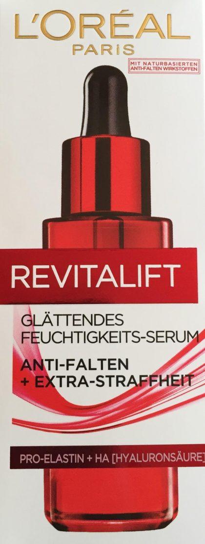 Revitalift Glättendes Feuchtigkeits-Serum Verpackung vorne