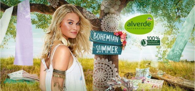 dm News: alverde Limited Edition Bohemian Summer