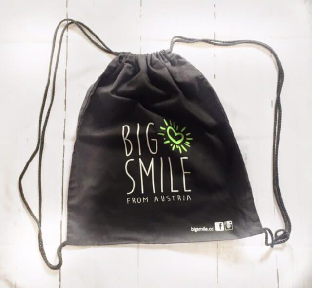 Big Smile Gym Bag