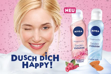 Rossmann News: NIVEA Seiden-Mousse – das Gefühl purer Seide auf der Haut!