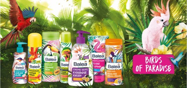 dm News: Balea Limited Edition Birds of Paradise