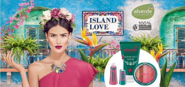 dm News: alverde Limited Edition Island Love