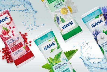Rossmann News: Die neuen Shampoos + Spülungen von ISANA