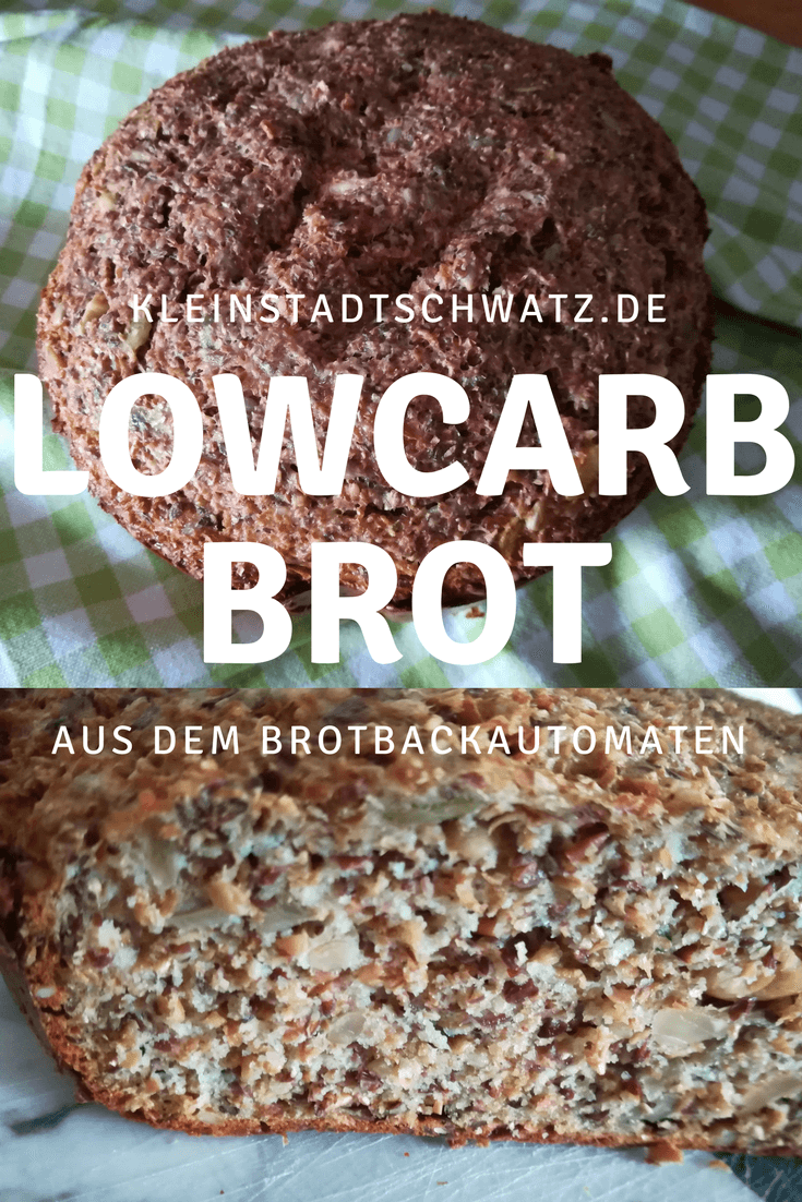 LowCarb Brot Pin