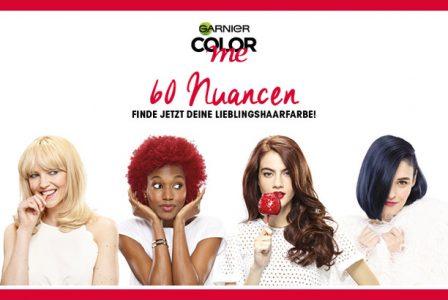 Rossmann News: Garnier Color me – finde deine Lieblingshaarfarbe