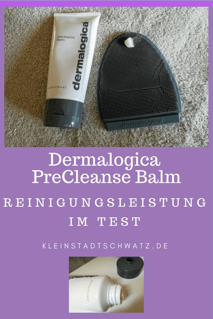 Dermalogica PreCleanse Balm im Test - Wie gut entfernt dieser Foundation, wasserfeste Mascara und Co. - wie sieht es mit der Hautverträglichkeit aus - was gefällt mir und was gar nicht?