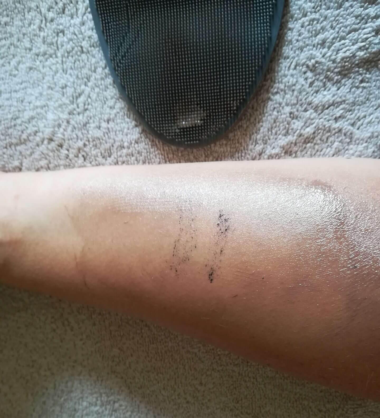 Dermalogica PreCleanse Balm - weiter in die Haut eingearbeitet