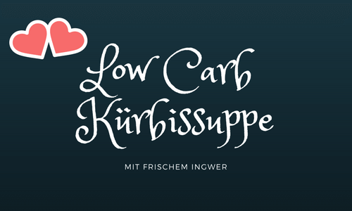 Kürbissuppe LowCarb