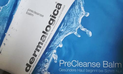 PreCleanse Balm von Dermalogica im Einsatz