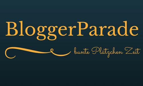 BloggerParade – bunte Plätzchen – Zeit