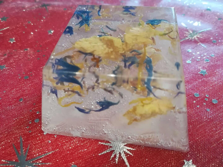 Blüten-Seife fertig (1)