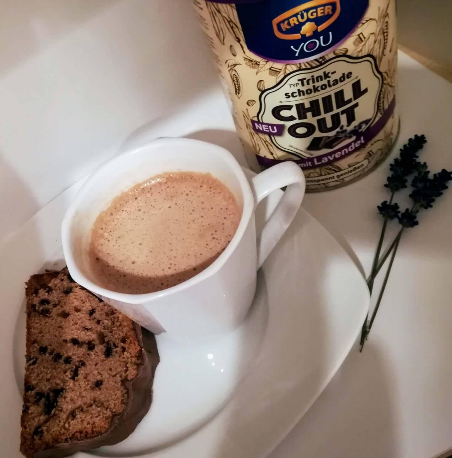Schokokuchen mit Krüger Chill Out Trinkschokolade