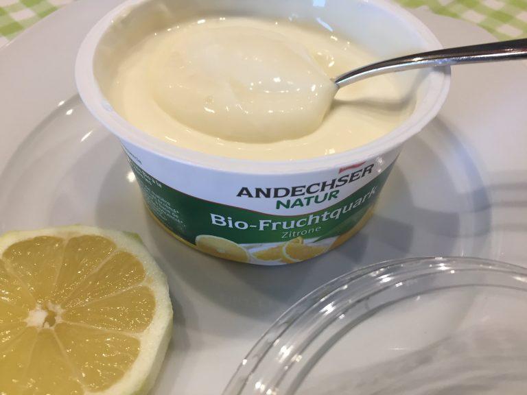Andechser Bio Fruchtquark Zitrone 2