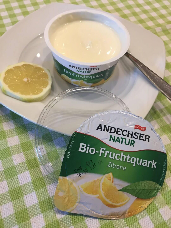Andechser Bio Fruchtquark Zitrone