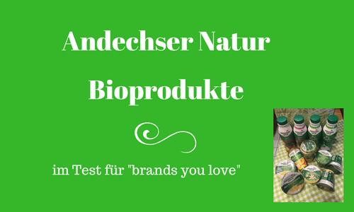 Andechser Natur Bioprodukte