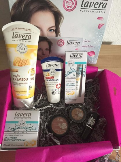 Lavera Beauty Box Xmas Edition Inhalt