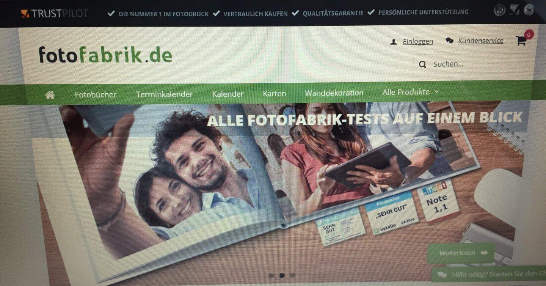 Fotofabrik Startseite