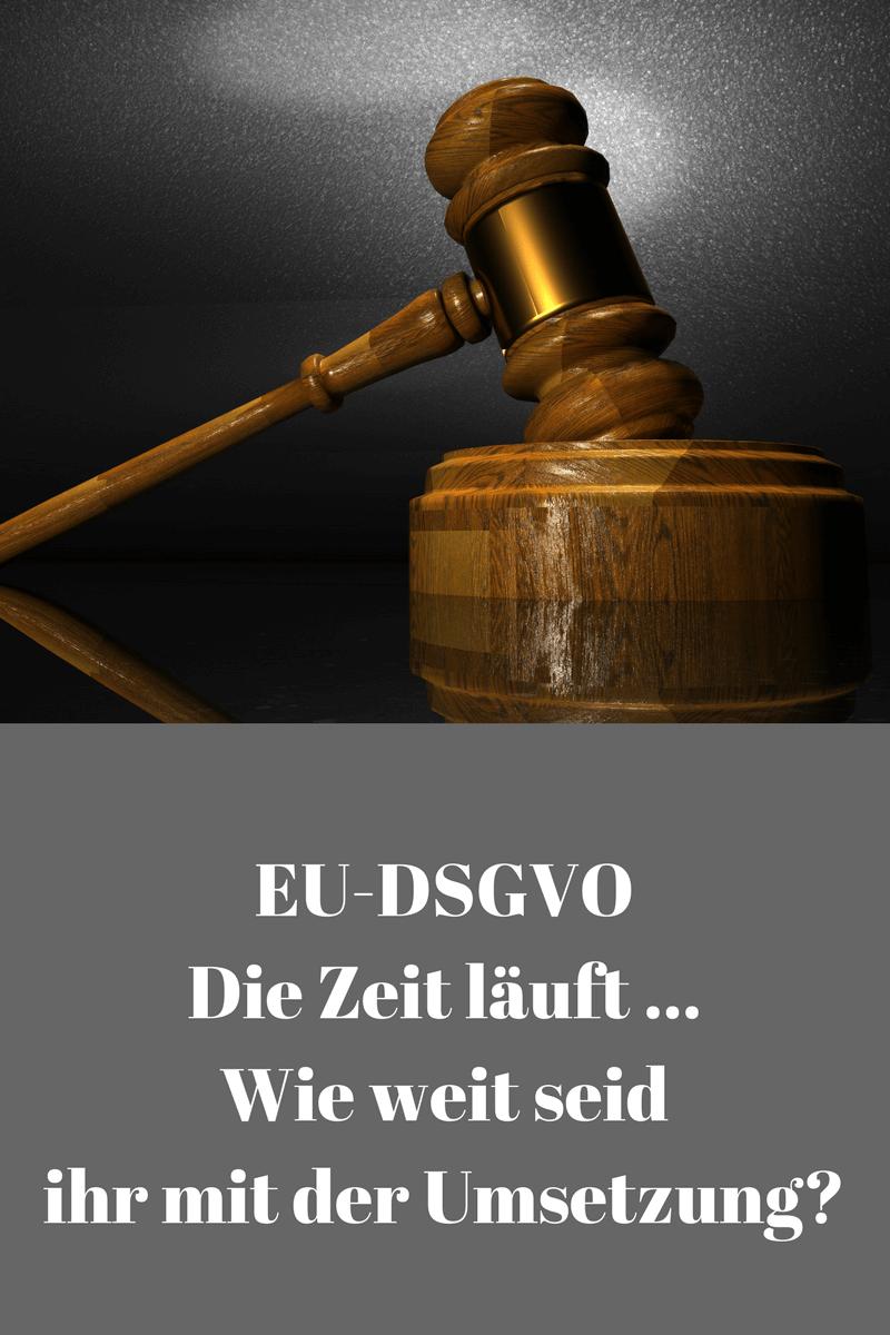 EU-DSGVO Die Zeit läuft